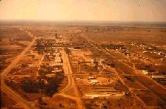 aerial view of Monze